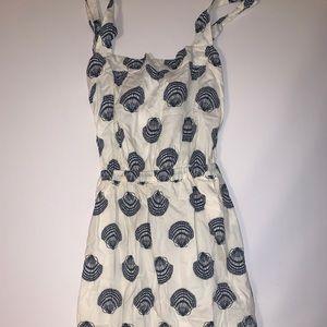 jcrew maxi seashell dress !